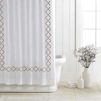 Moroccan Gate Shower Curtain Khaki Shower Curtain Curtains