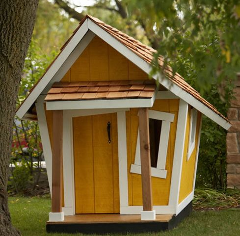 Funky sheds and groovy pavillions on pinterest 23 pins for Whimsical playhouses