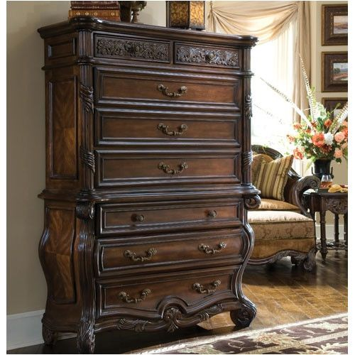 Found it at Wayfair Es Manor Lingerie Chest in Deep English Tea