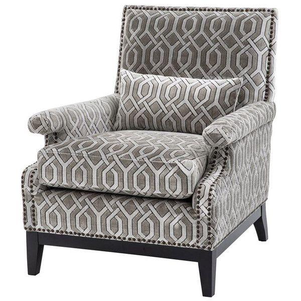 Eichholtz Goldoni Trellis Chair 1 625 Liked On Polyvore