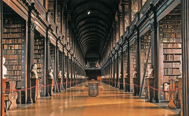 The Old Library Trinity College Dublin Thomas Burgh 1712 33