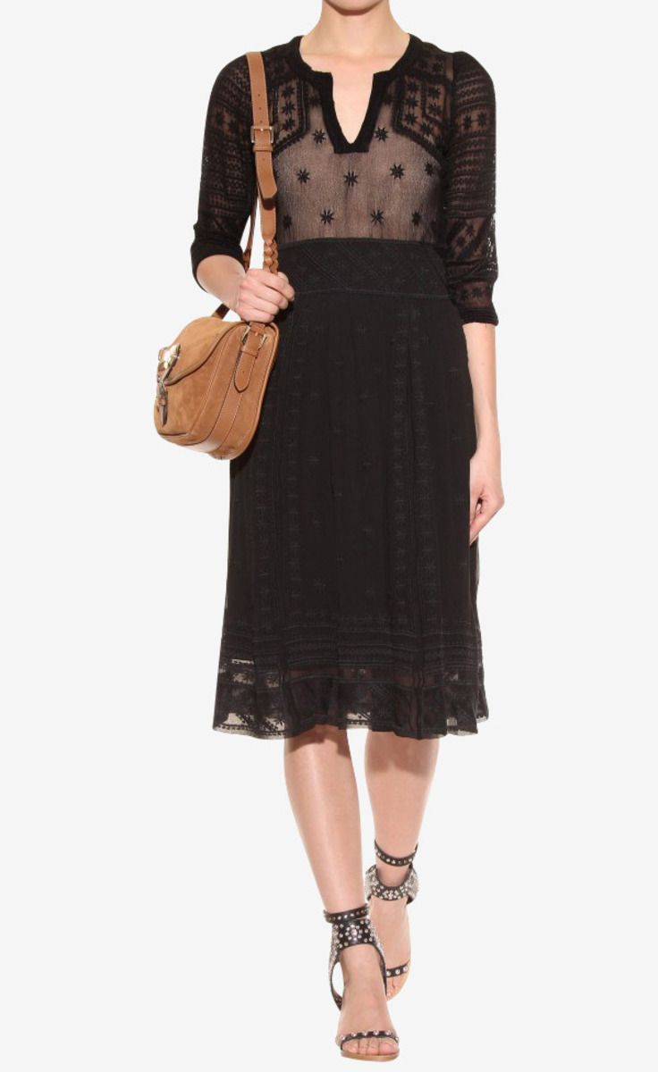Isabel Marant Black Dress #dream #fashion #marant