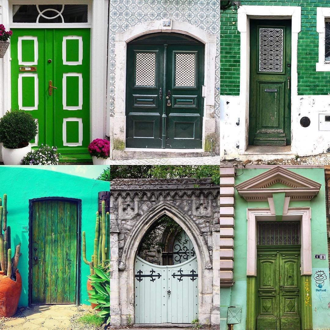 Green Doors by:  R1C1: @swaay_b R1C2: @dianebass R2C1: @carlalovesphotography R2C2: @kathyjcallahan R3C1: @anabelafn R3C2: @cristinapotec