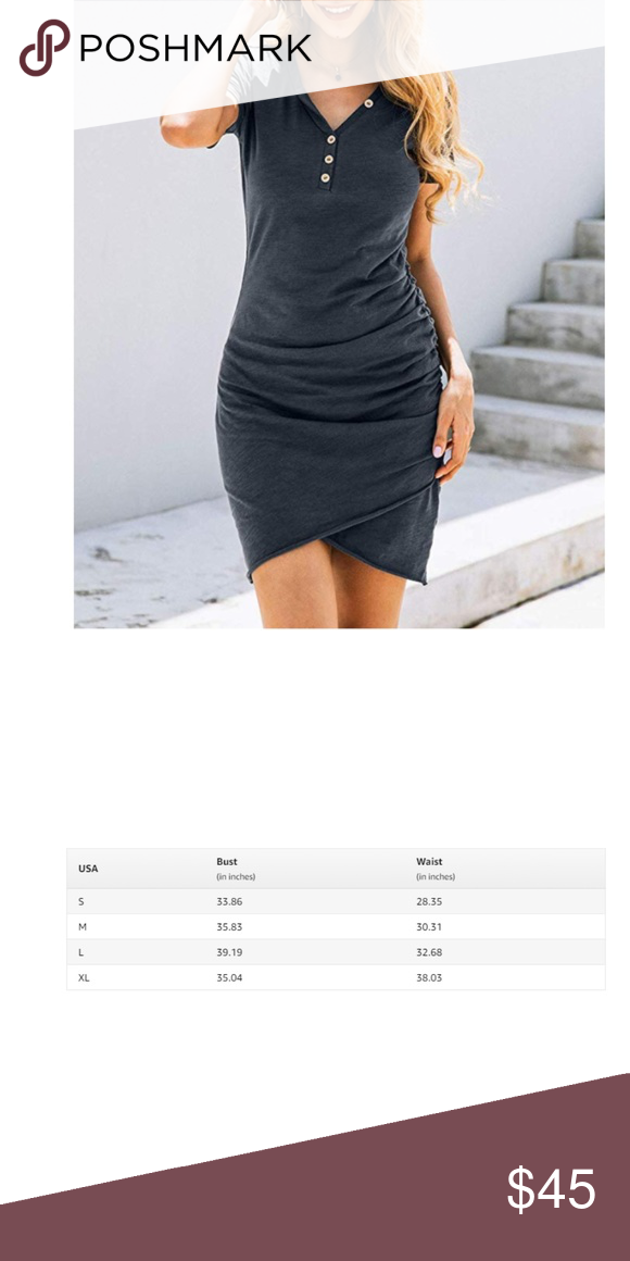 Casual Crew Neck Stretchy Bodyconshort Mini Dress Pull On Closure Easier To Put On And Take Off Closure This Is A Ruch Mini Dresses Summer Mini Dress Dresses