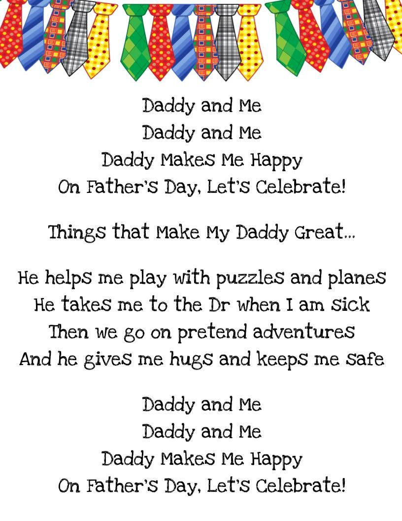 Father S Day Song My Toddler Class Will Be Singing It For Their
