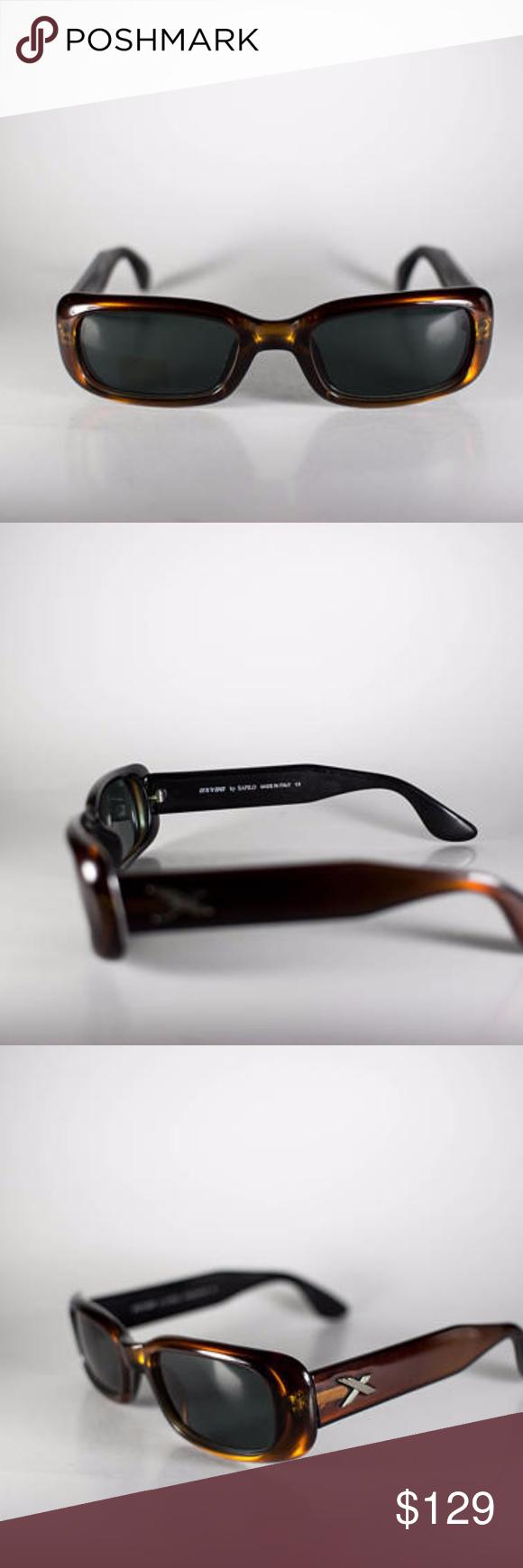 4e027e9da Oxydo by Safilo Optyl 156 Escape 1 7NX 50-20-135 Oxydo by Safilo Optyl 156  Escape 1 7NX 50-20-135 Made in Italy Unisex Vintage Sunglasses Plastic  Brown Free ...