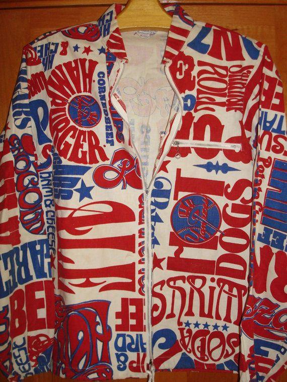 f459fb49 Mens Vintage 60s NY New York Yankees Baseball Jacket Coat Blazer Shirt - M  - The Hana Shirt Co