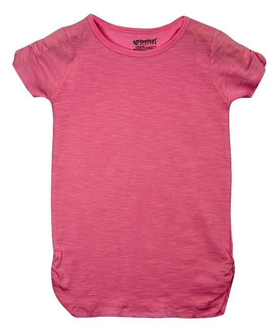 Pink Rose Paige Tee - Girls