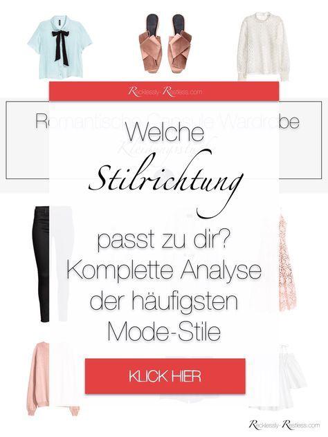 Kleidungsstil Ubersicht Welche Modestil Arten Fur Frauen Gibt Es Modestil Modernes Kleid Minimalistische Kleidung