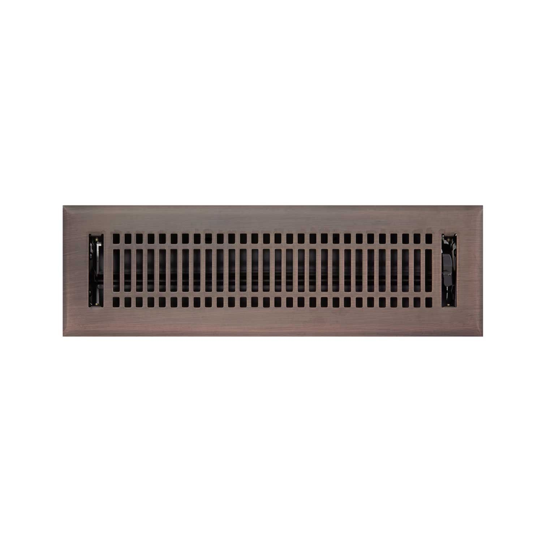 Contemporary Steel Wall Register