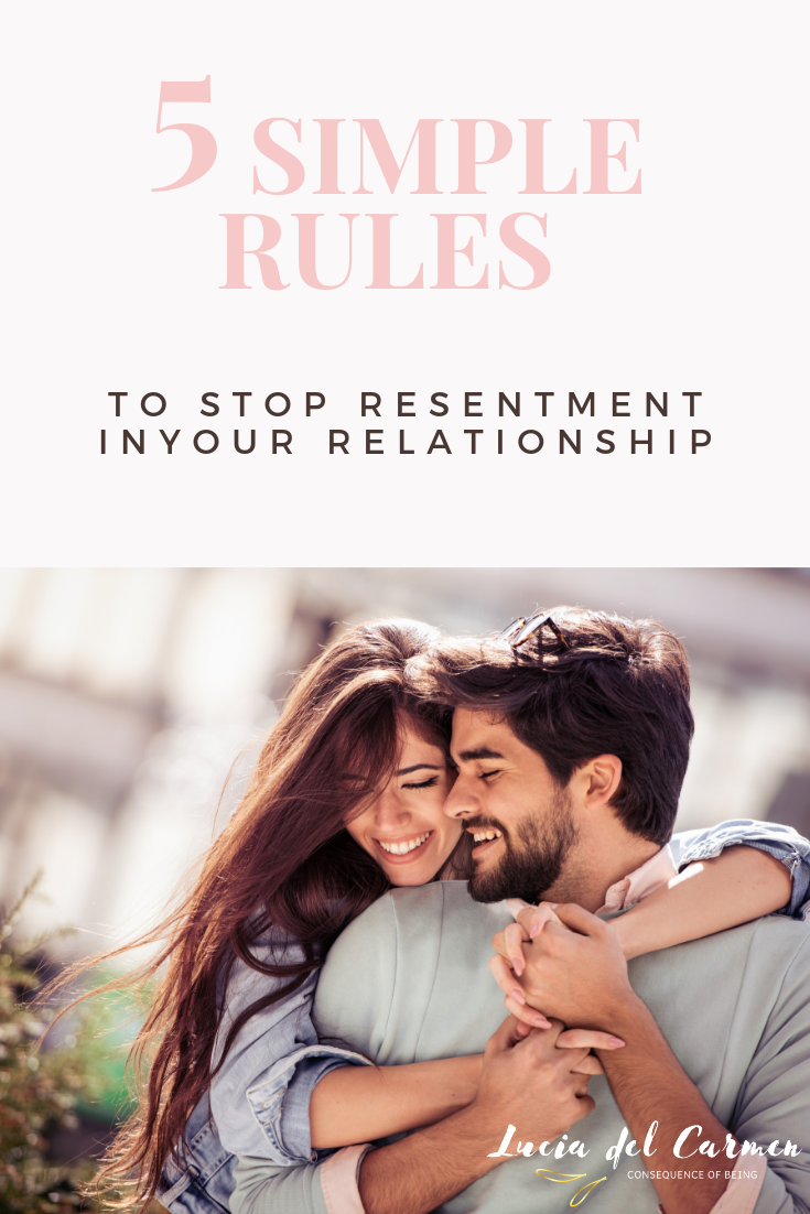 what causes resentment in a relationship