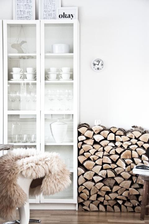 So schön kann das IKEA Billy Regal aussehen, wenn es Glastüren - küchenschrank mit glastüren