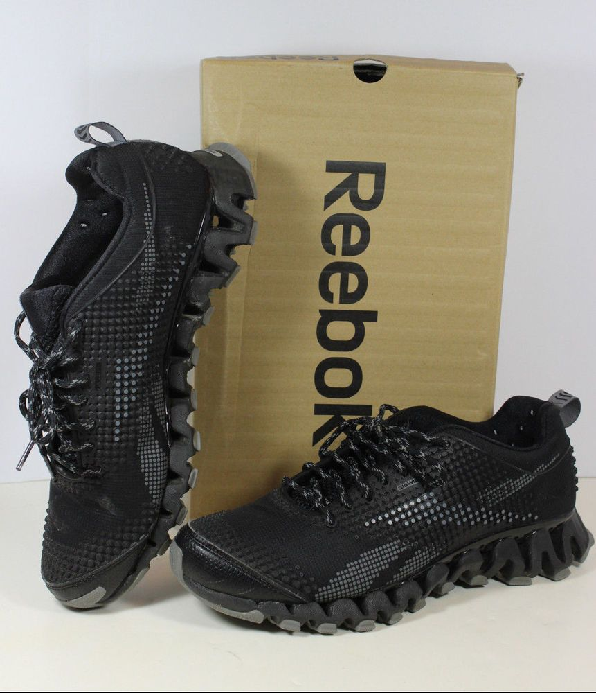 1a1a36afebd Mens Reebok ZigWild Tr 4 Trail Running Shoes ZigTech Zig Wild Black 11.5   Reebok  RunningCrossTraining