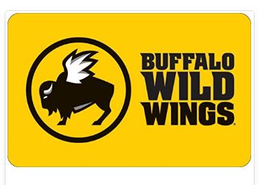Hope You Enjoy This Gift Card Buffalo Wild Wings Gift Card Buffalo Wild Wings Buffalo Wild