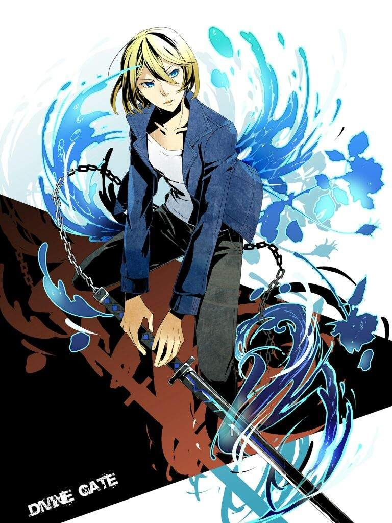 Aoto Anime Divine Gate Birthday July 20 Divine