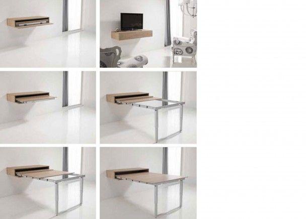 Mesa extensible para sal n comedor riber pinterest - Mesas salon extensibles ...