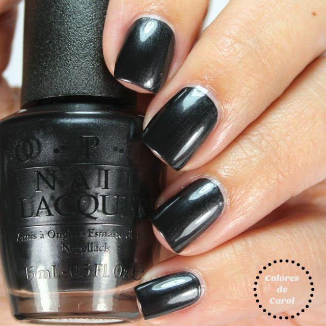 Black dress not optional opi or essie