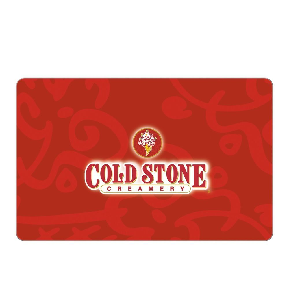 Cold stone creamery egift card 25 50 100 email
