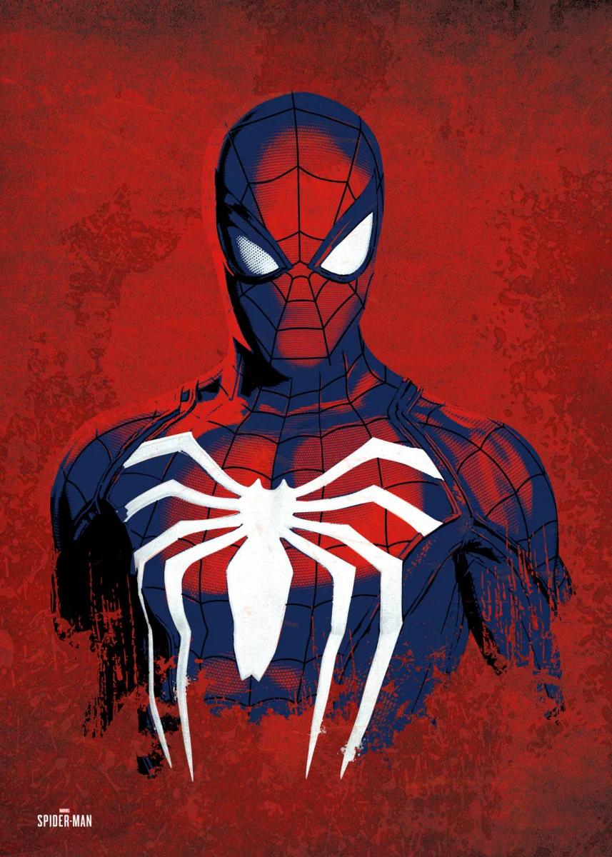 'Hero' Metal Poster Print - Marvel US | Displate