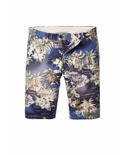 Blue Scotch /& Soda Mens All Over Print Swim Shorts
