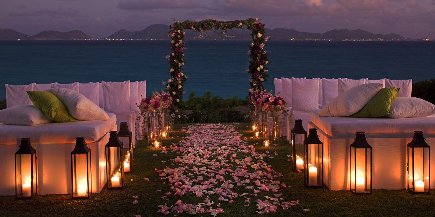 Amaze Travel Night beach weddings, Sunset beach weddings