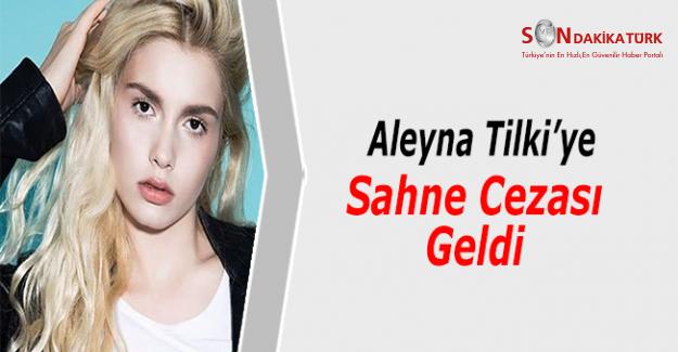 Aleyna Tilki Ye Sahne Cezasi Geldi Gelin