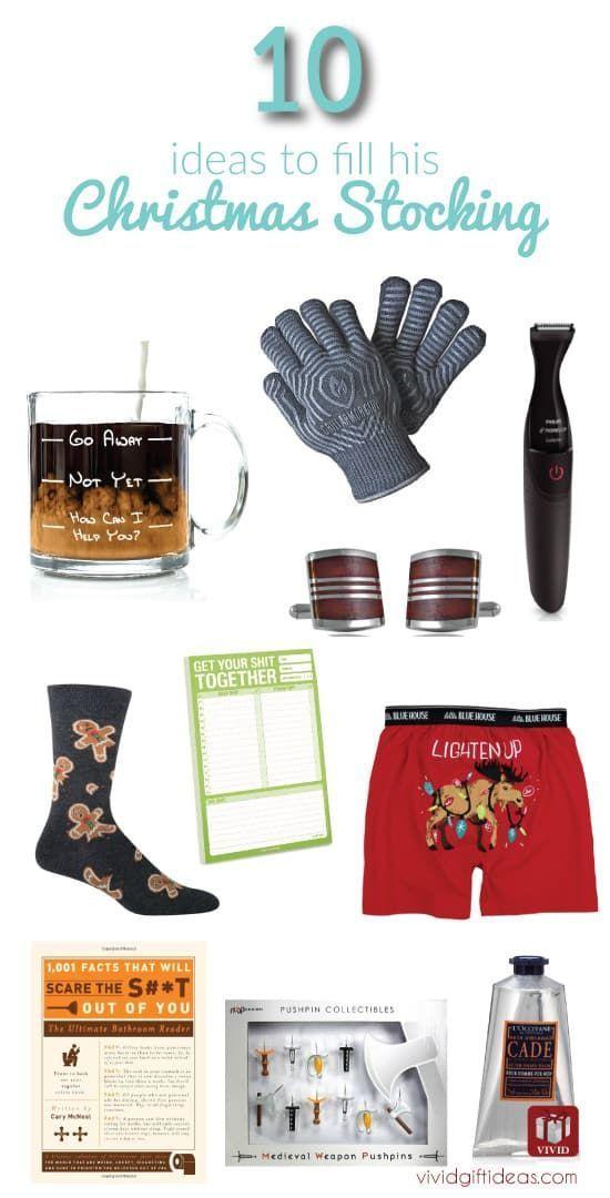 Men Stocking Stuffers (10 Cool Ideas) #stockingstuffersformen
