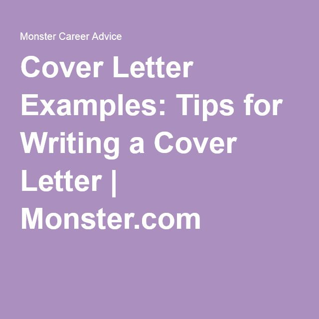 Stumped on how to write a cover letter that will catch an - sample resume monster