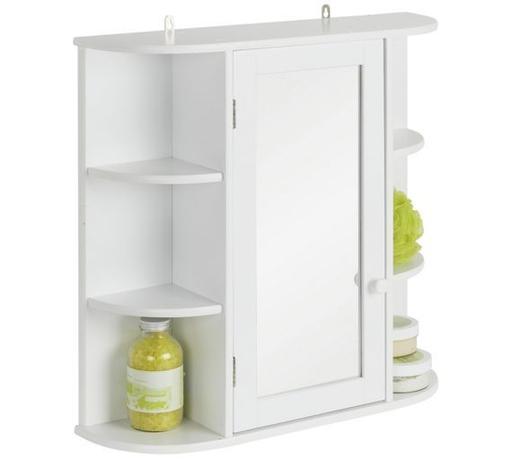 Home Mirrored Bathroom Cabinet With