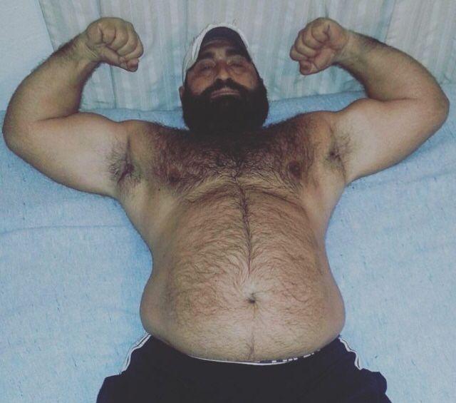 very well hung nudist