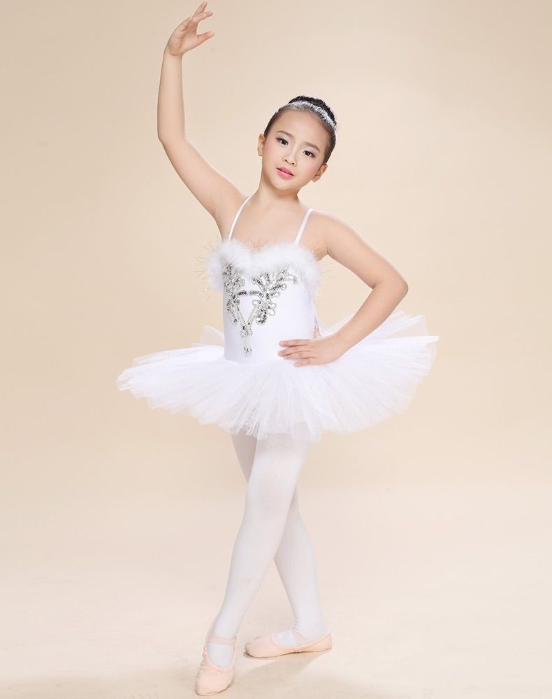 668a02077  14.99 - Kids Girls Ballet Dress Leotard Tutus Dancewear Dance Dress ...