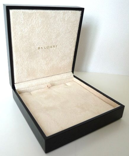 BVLGARI Jewellery Jewelry NECKLACE Box ESTUCHE Scatola Caja para