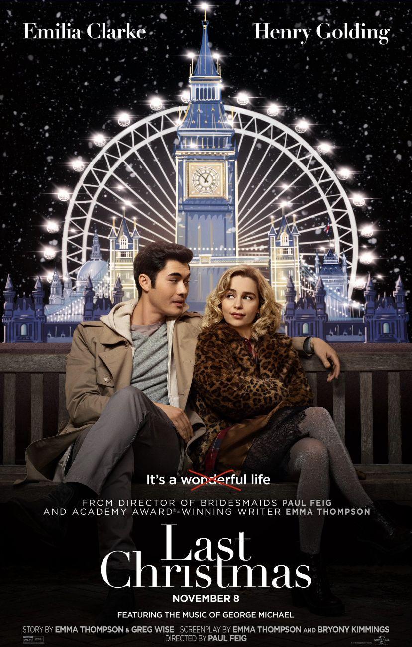 Poster For Last Christmas Movie Last Christmas Movie Free Movies Online Last Christmas