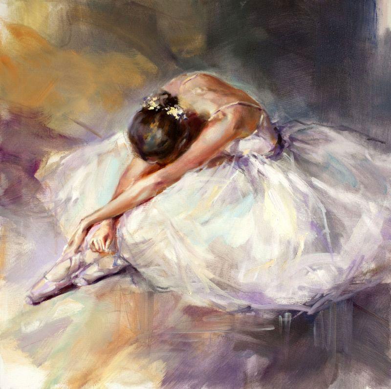 картинки балет живопись рустик