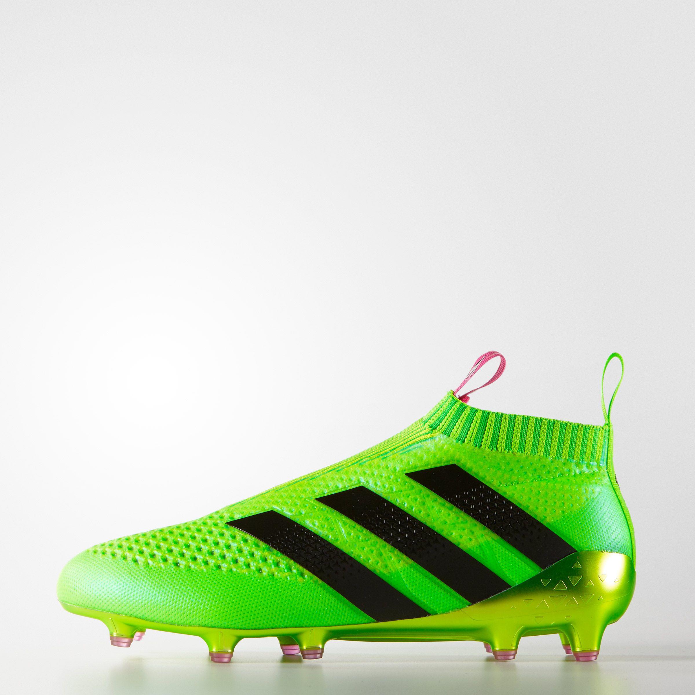 ADIDAS ACE 16+ PURECONTROL FG/AG - GREEN #9ine · Adidas CleatsAdidas  FootballFootball BootsAdidas MenAdidas ...