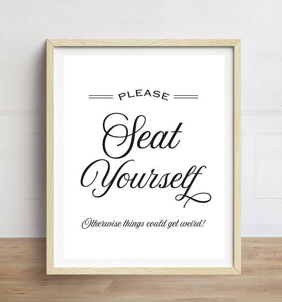Funny Bathroom Quotes Funny Bathroom Art, Please Seat Yourself, Bathroom Wall Art  Funny Bathroom Quotes