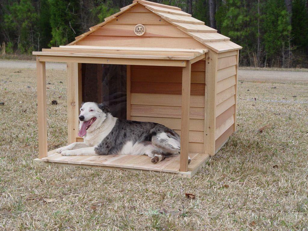 Large Dog House Custom Cedar Dog House Large Dog House Cool