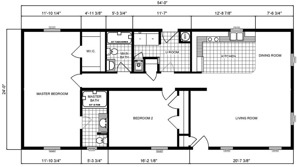 Pine Grove Homes G 239 Small Floor Plans House Plans Tiny House Plans