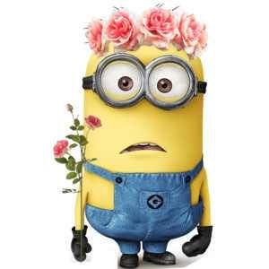 Flowers?   Fan art   Valentine's Day   See the Minions Movie in theaters Summer 2015.