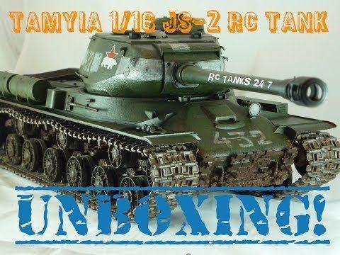 Build Series - Unboxing TAMIYA JS-2 1/16 RC Tank - YouTube