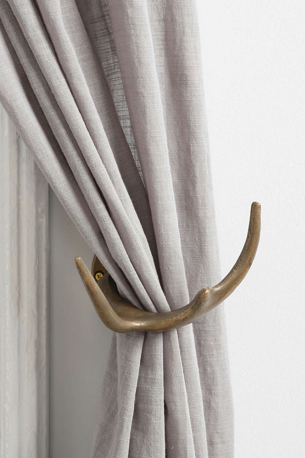 Magical Thinking Antler Curtain Tie Back Curtains Curtain Tie