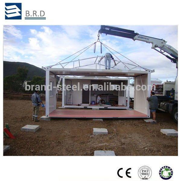 Panneau sandwich structure en acier maison conteneur for Structure conteneur