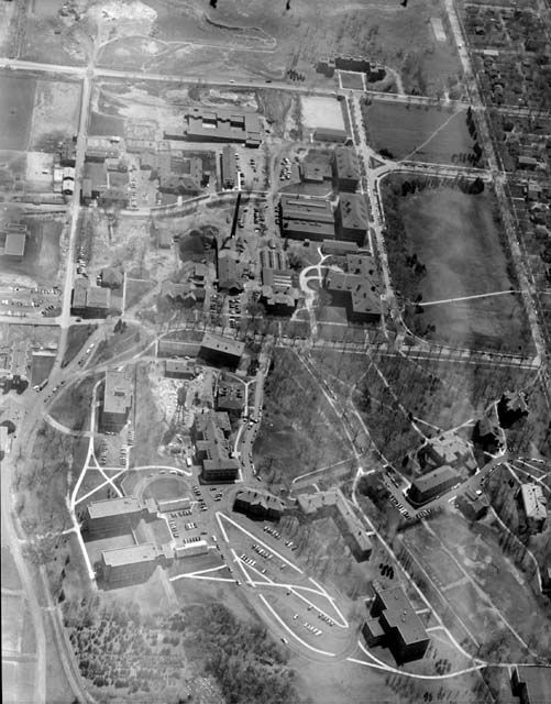 Aerial View Of The University Of Minnesota St Paul Campus 1950