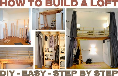 How To Build A Loft Diy Step By Step With Pictures Diy Loft Bed Loft Room Build A Loft Bed