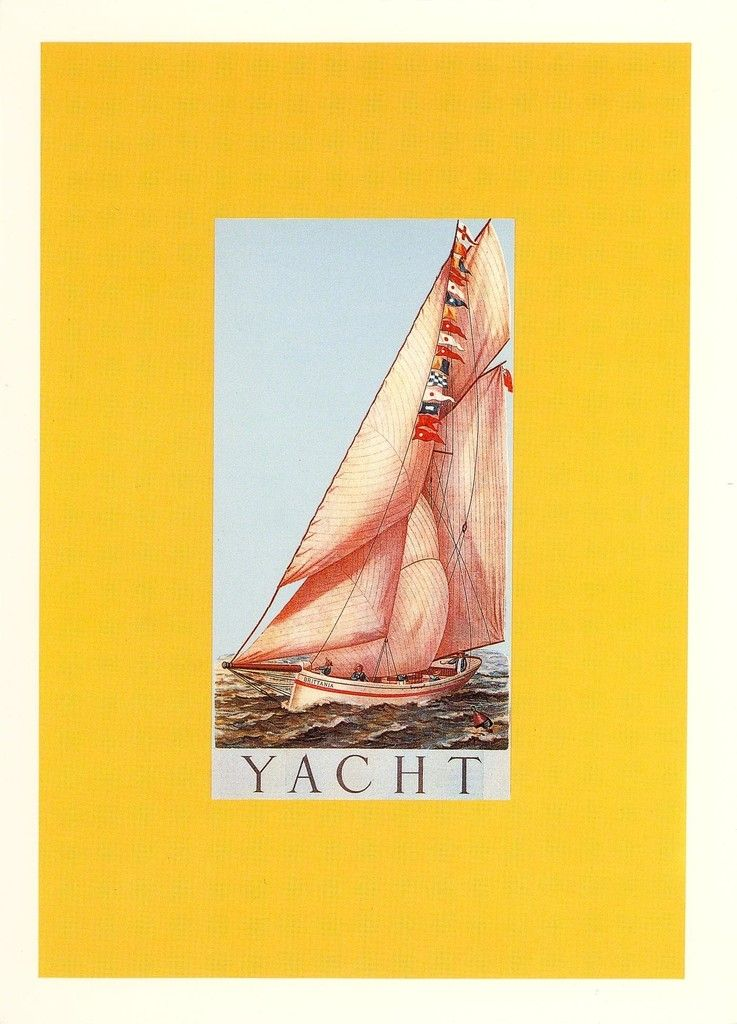 Y for Yacht | Peter Blake, Y for Yacht (1991)
