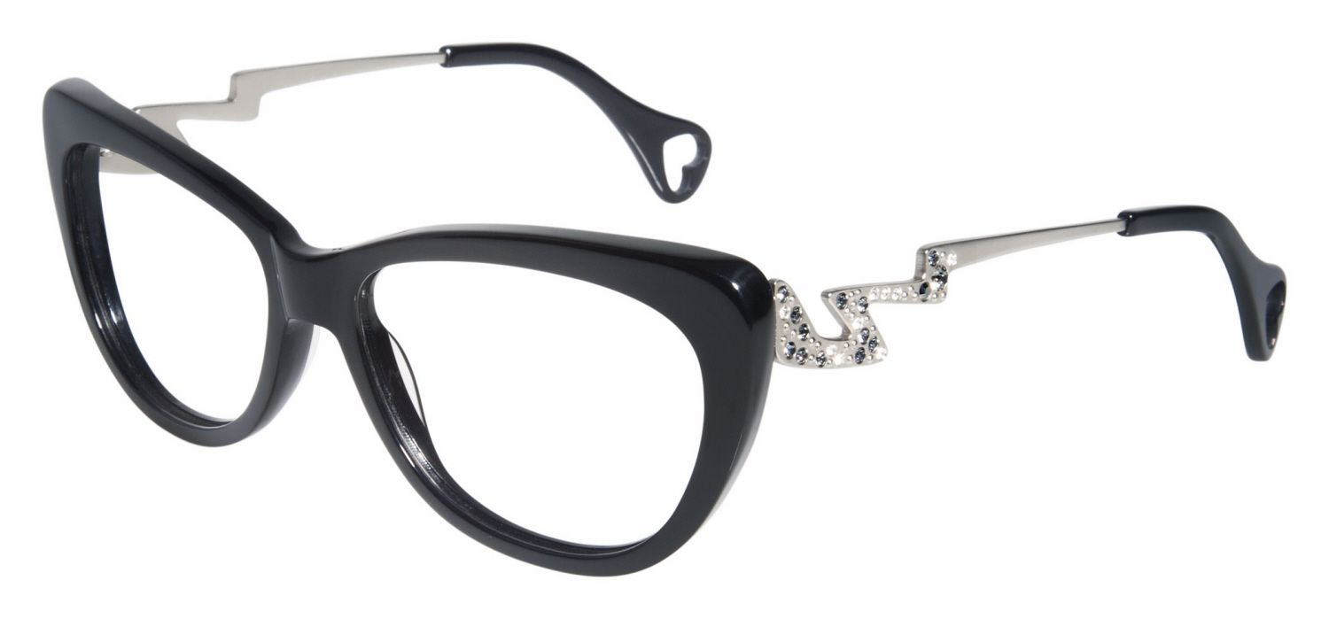Betsey Johnson Wild Thing BJ0128 Eyeglasses | four eyes. | Pinterest