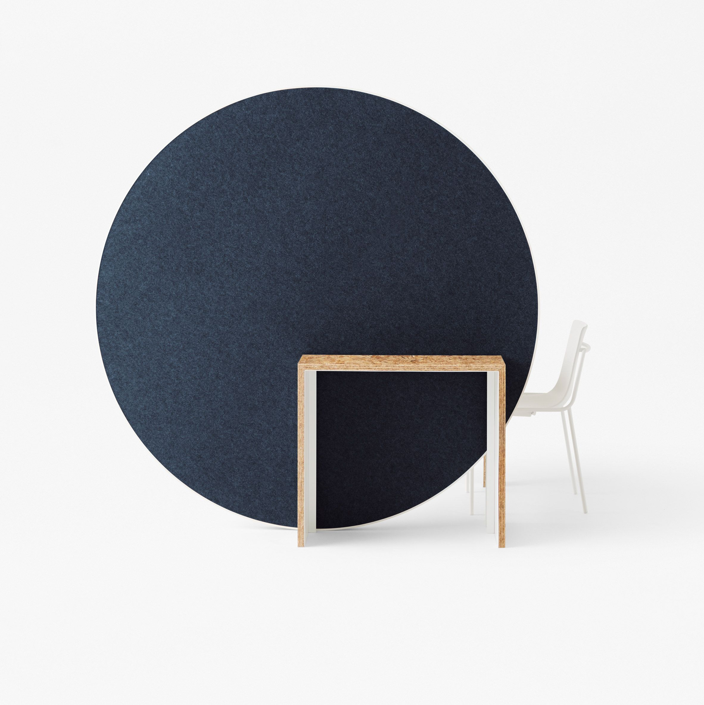 japanese office furniture. Japanese Design Studio Nendo Has Created An Installation Of Circular Office Furniture That Can Be Wheeled