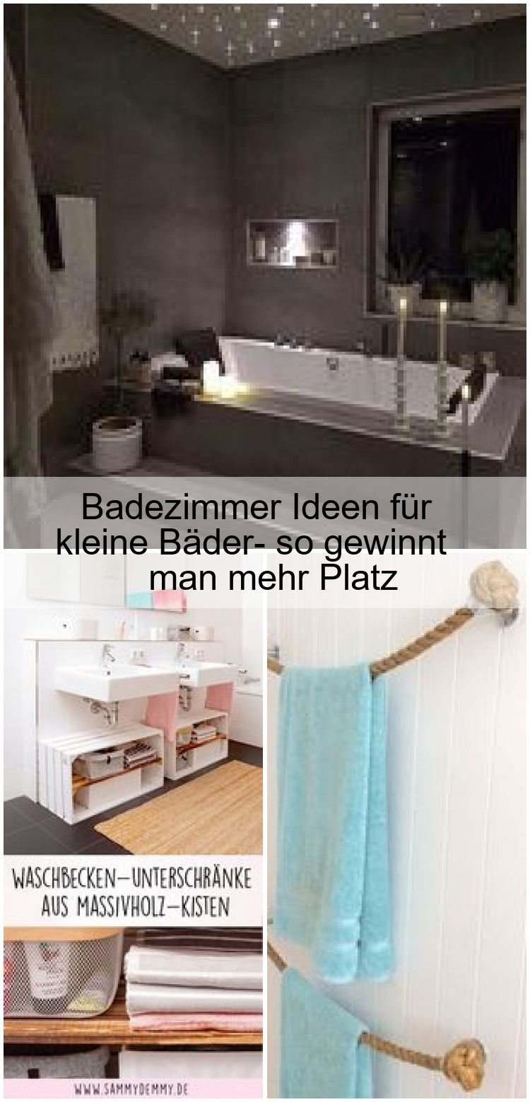 Badezimmer Ideen Fur Kleine Bader So Gewinnt Man Mehr Platz Bader Badezimmer Decortionbathroom Fur Gewinnt Decorating Blogs Shower Basic Shower Curtain