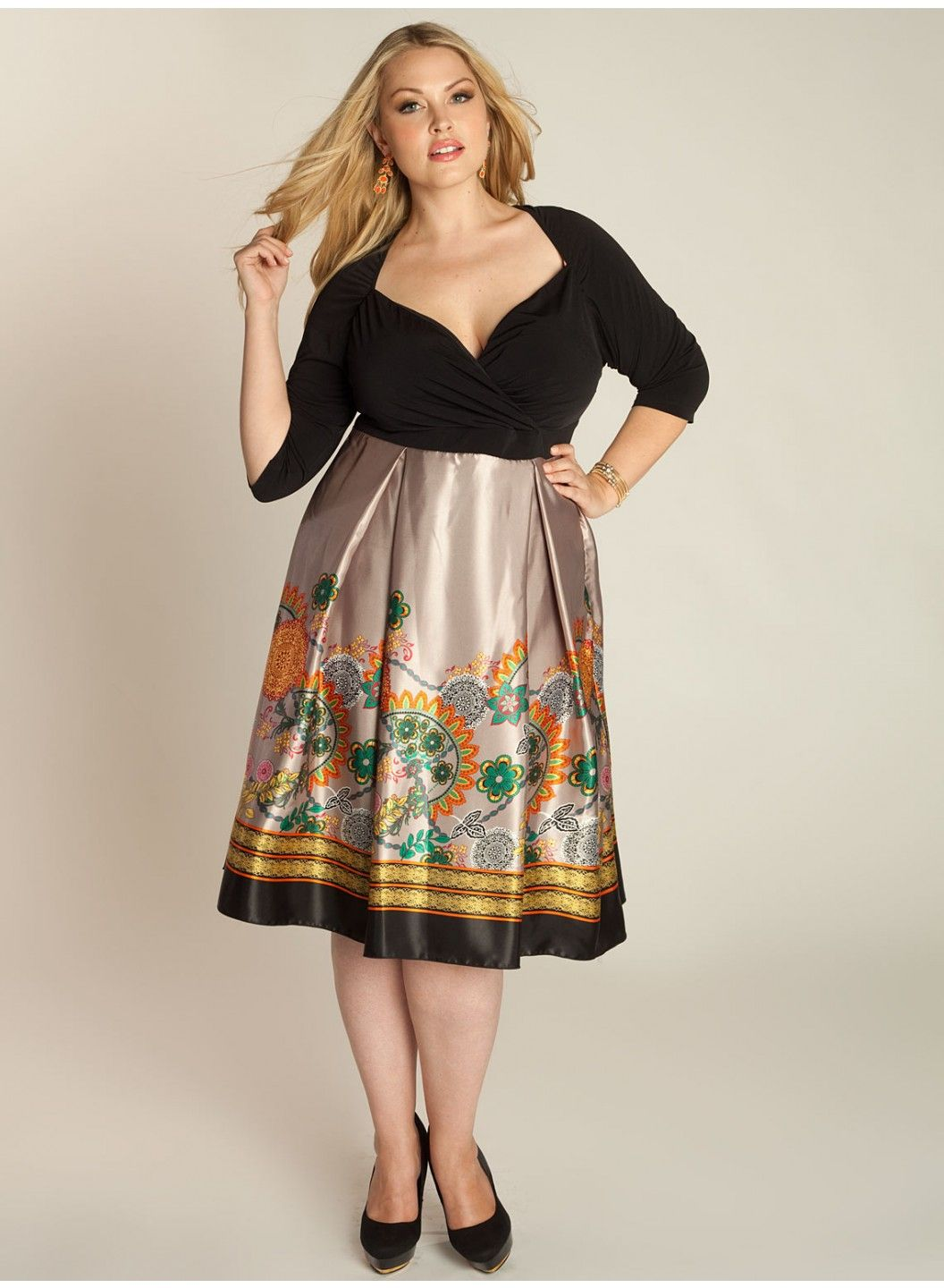 b528b02c3dae Leah Dress. Perfect for complimenting the fuller bust, big bust, big  breasted or curvy woman.