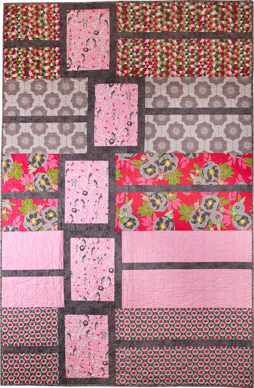Holland Park Quilt Kit. Charming birds peacefully await Spring's ... : the needle and i quilt shop - Adamdwight.com